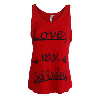 Kristi Tie Back Ladies Tank