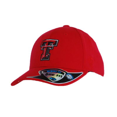 Premium Collection Memory One Fit Red Cap