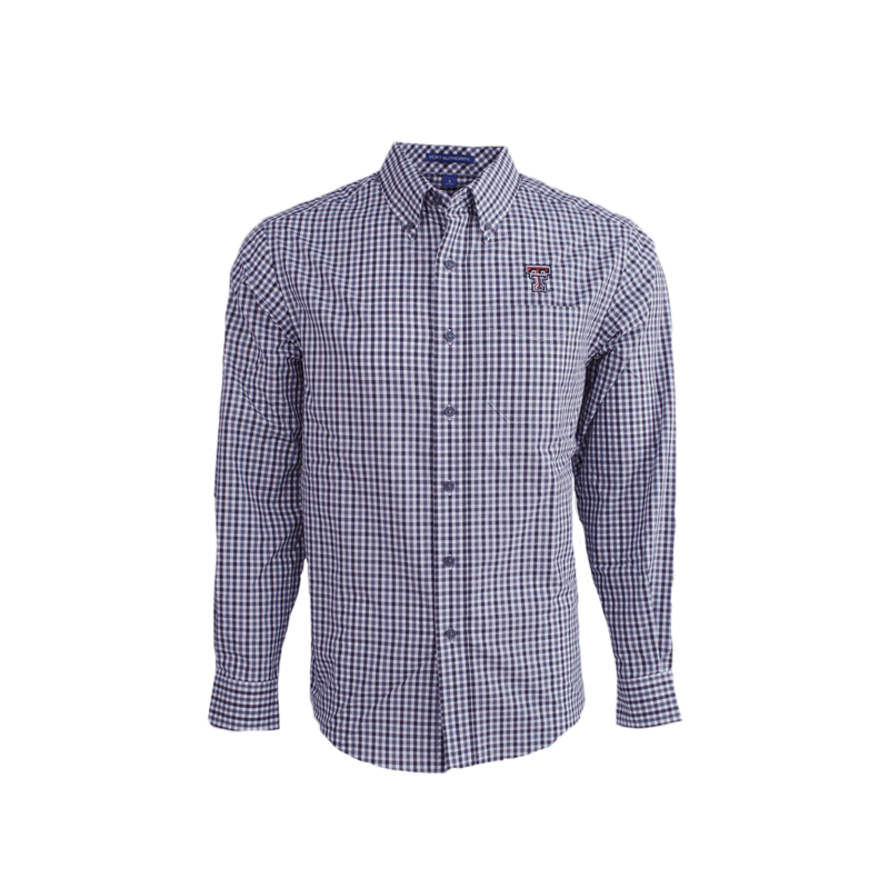 Gingham Easy Care Long Sleeve Button Down