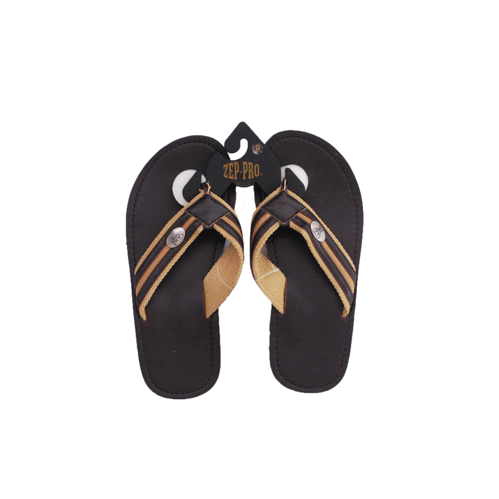 Khaki Brown Concho Sandal