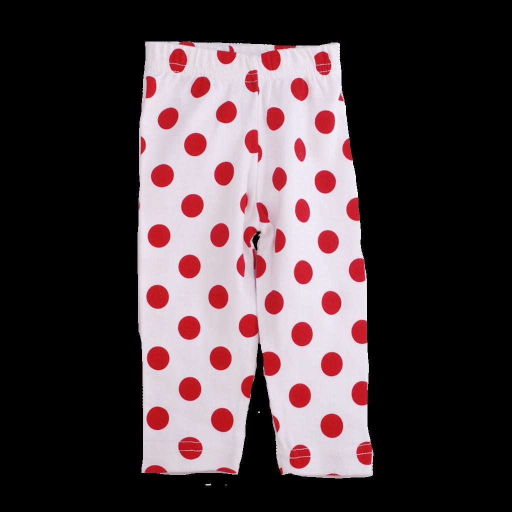 Girls Polka Dot Legging
