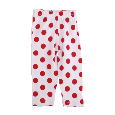 Girls Polka Dot Legging