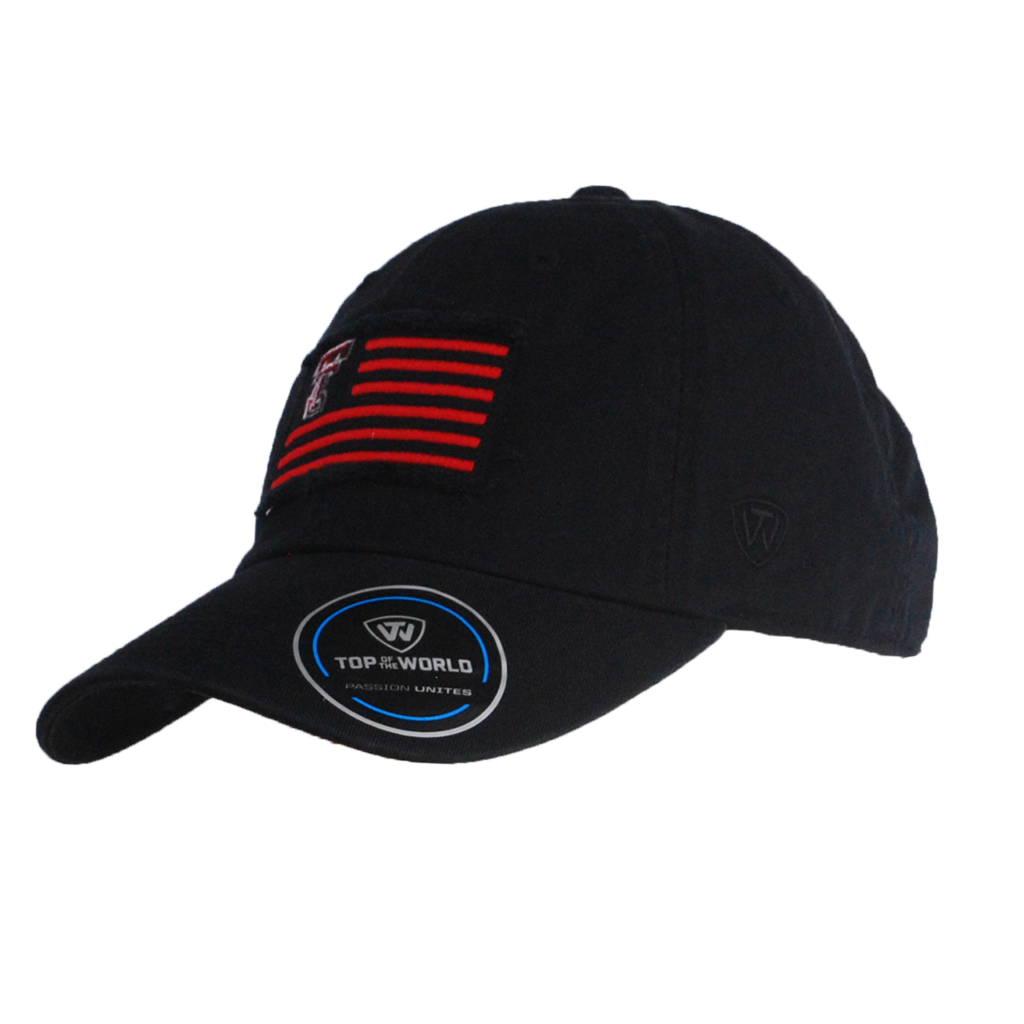 TOW Flag Washed Cotton Strapback Cap