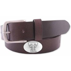 Concho No Tip Leather Belt