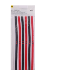 Under Armour Red/Black/White Headband