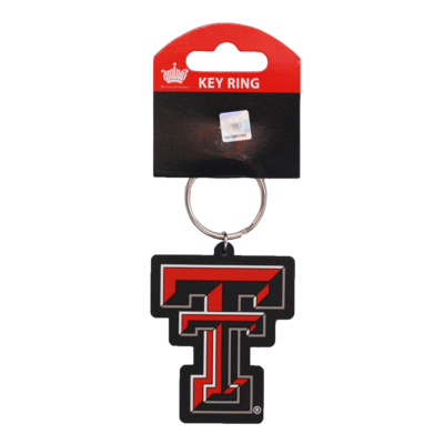 Double T PVC Key Ring