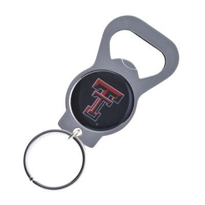 Metal Circle Bottle Opener Keychain
