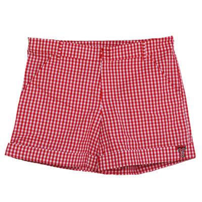 Ladies Gingham Shorts