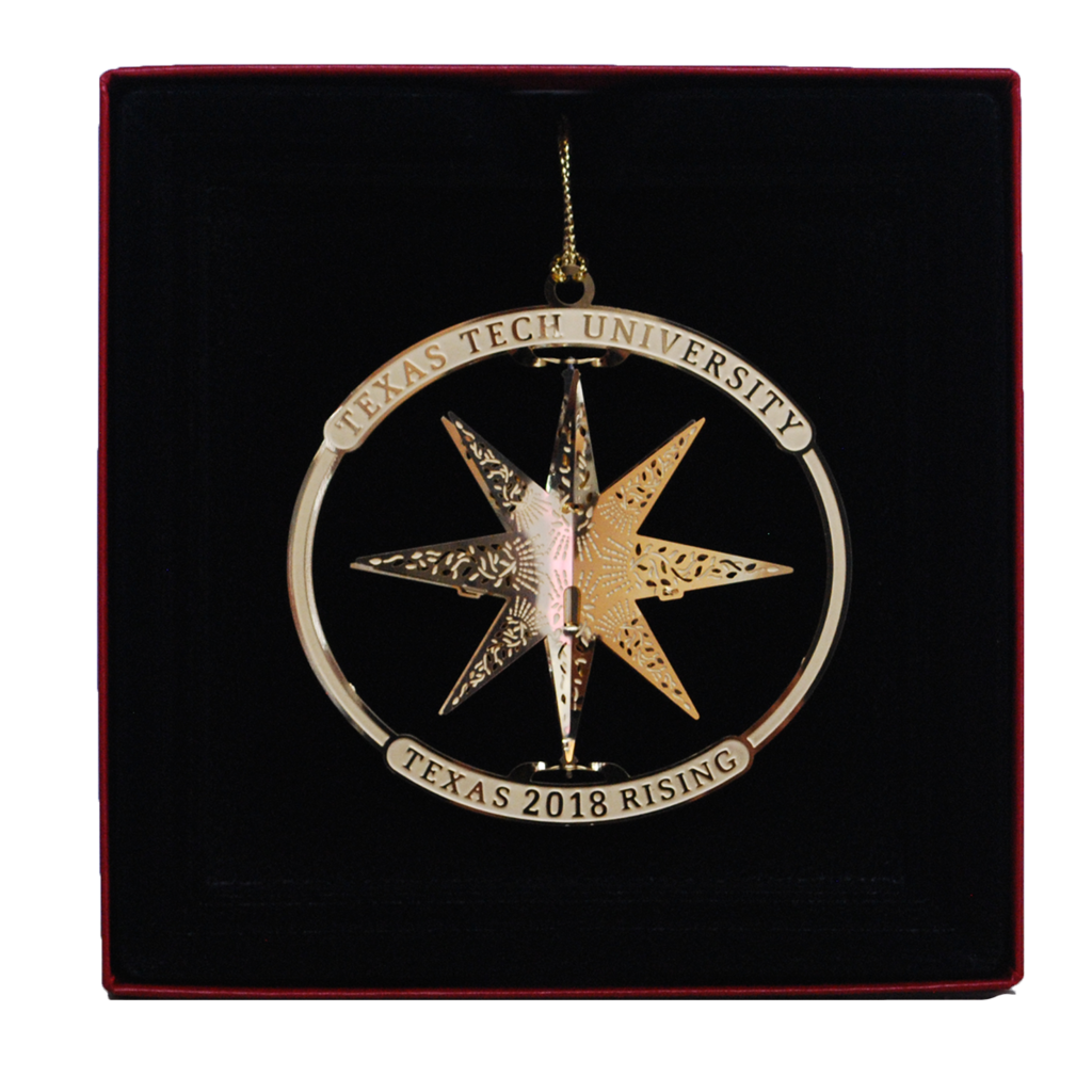 Official Texas Rising Ornament 2018