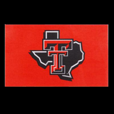 3x5 Red Flag w/ Lonestar Pride Logo