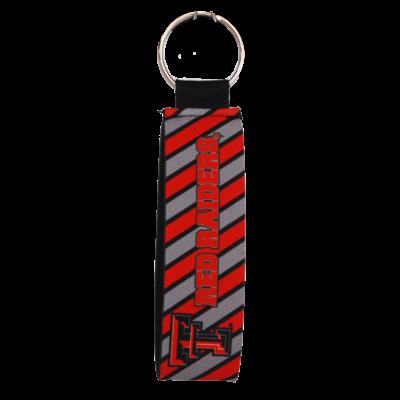 Keychain Wristlet w/Stripes