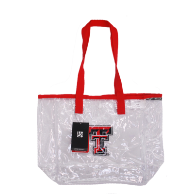 Stadium Clear Bag with Snap