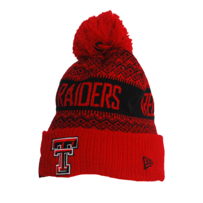New Era Youth Wintry Pom Toboggan