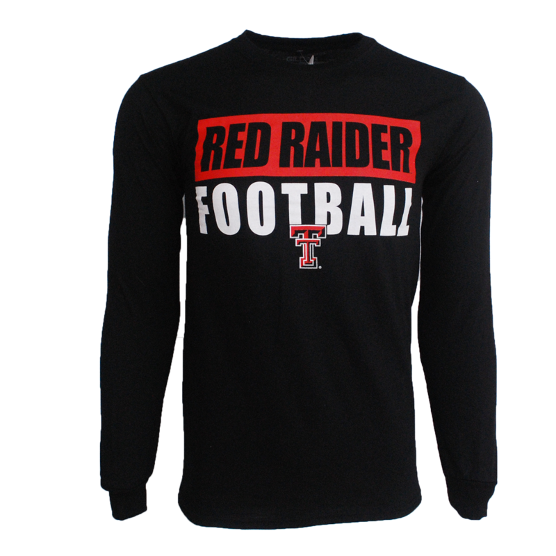 Bold Bar Red Raider Football LST
