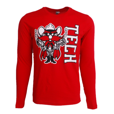 Distressed Raider Red Youth LST