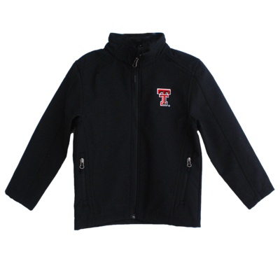 Youth Soft Shell Full Zip Jacket