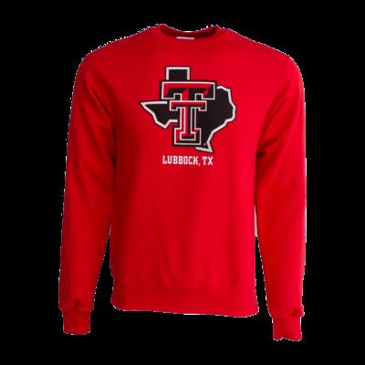 Lubbock Lonestar Pride Crew Sweatshirt