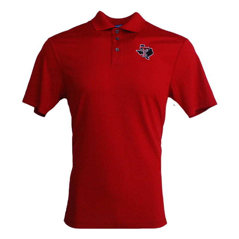Fine Jaquard Performance Polo