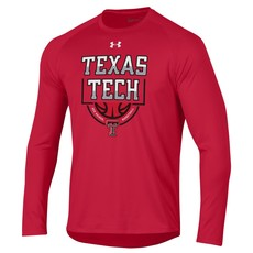 Under Armour Liquid Silver Basketball Long Sleeve Tee