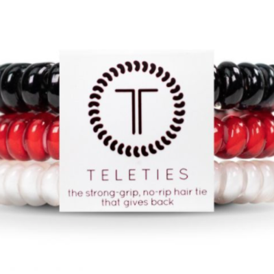 Teleties Hair & Wrist Tie  3 Pack