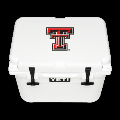 Yeti Roadie Double T White Cooler