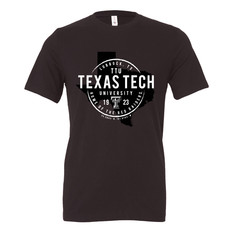 Texas State Stamp Short Sleeve Tee