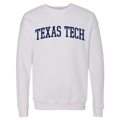 Collegiate Crew Drop Shoulder Fleece