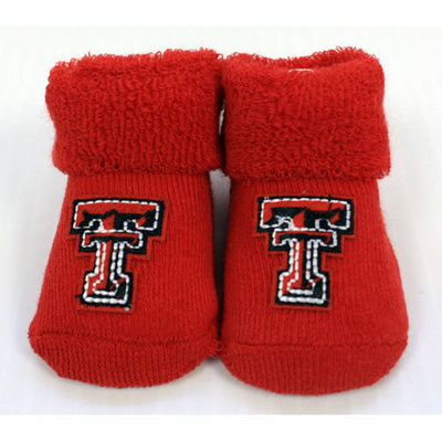 Infant Red Bootie Set