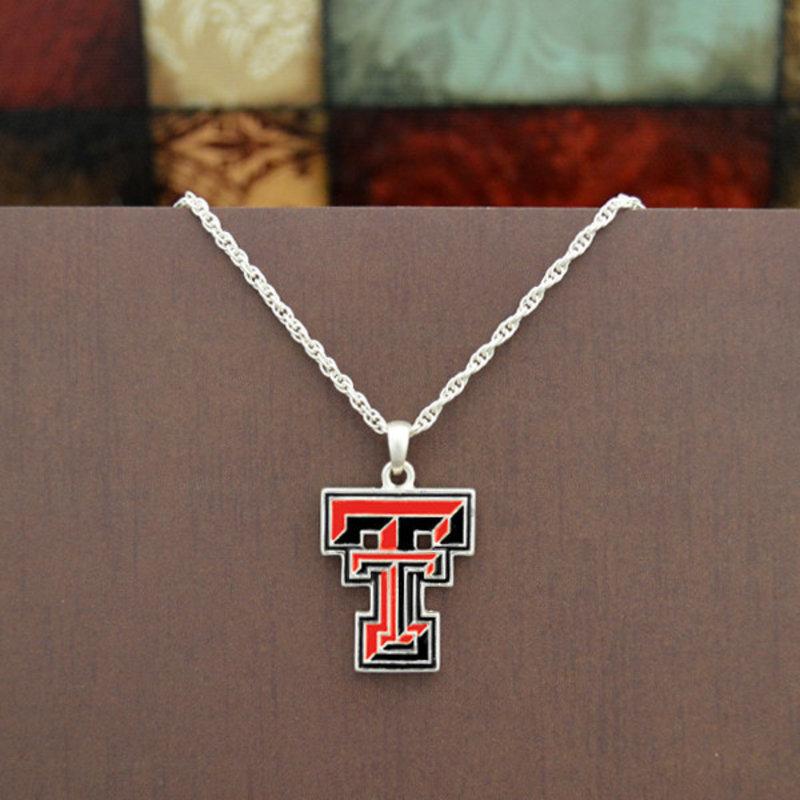 Dangle Double T Necklace