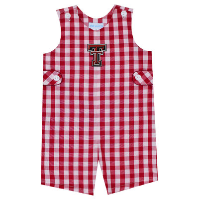 Big Check Romper