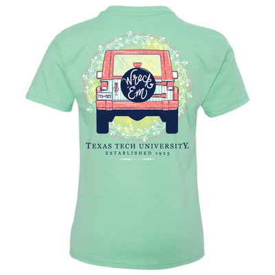 Wreck'em Jeep Youth Short Sleeve Tee