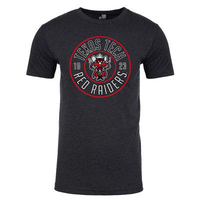 Raider Red Round Short Sleeve Tee
