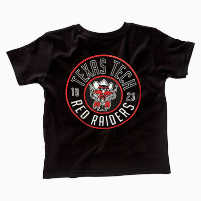 Raider Red Round Toddler Short Sleeve Tee