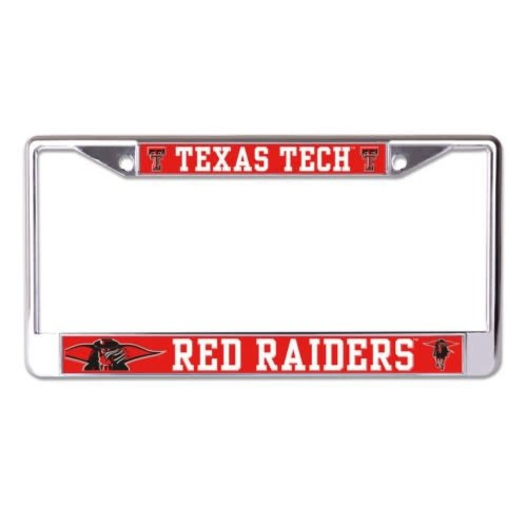 Masked Rider Metal License Plate Frame