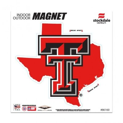 "State of Texas Double T Magnet 6""x6"""