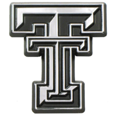 Auto Emblem Chrome Double T