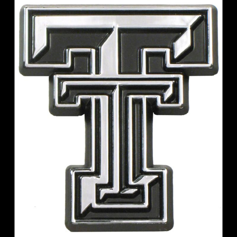 Auto Emblem Chrome Double T