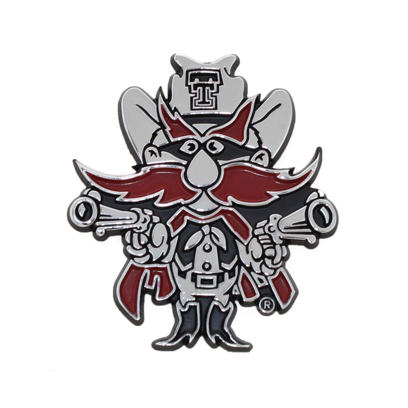 Auto Emblem Color Raider Red