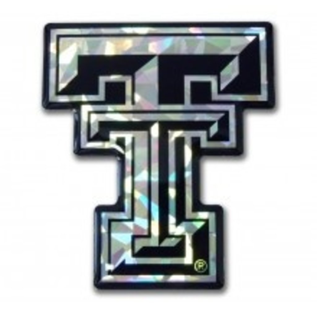 TT Black & Silver Domed Decal