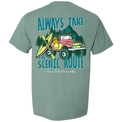 Scenic Route Mountains Short Sleeve Tee