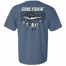 Gone Fishin Short Sleeve Tee