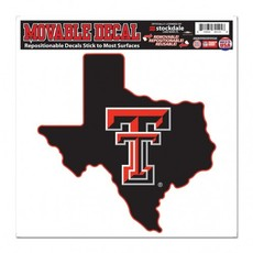 """State of Texas Double T Movable Decal 8""""x8"""""""