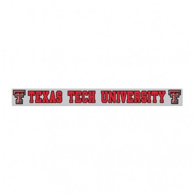 "Texas Tech University Decal 2""x19"""