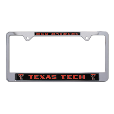 Raised Double T License Frame