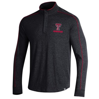 Piped Charged Cotton 1/4 Zip