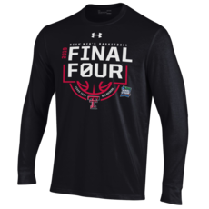 Under Armour Final Four Double T Logo Below Basketball Long Sleeve