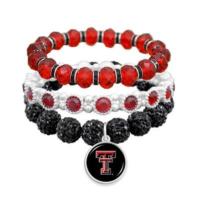 Jeweled 3 Piece Bling Bracelet