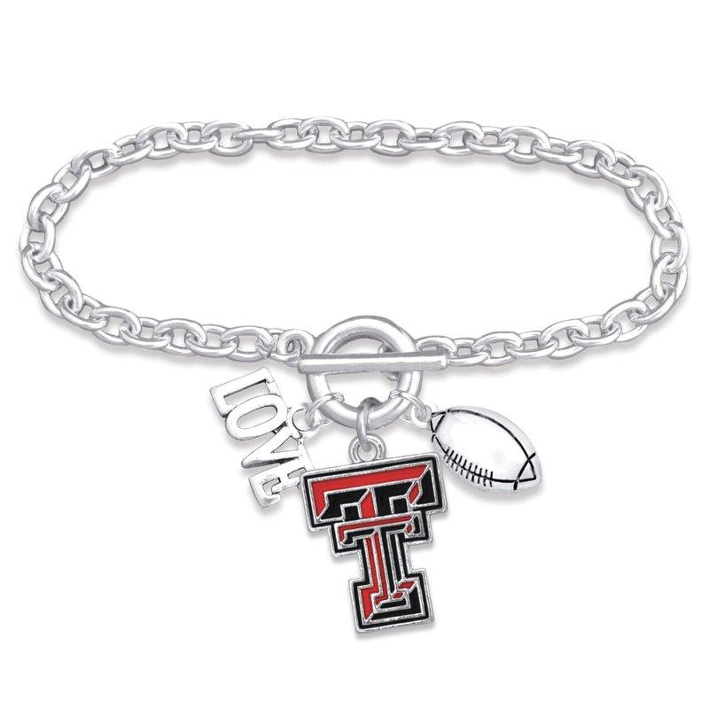 Touchdown Football Bracelet