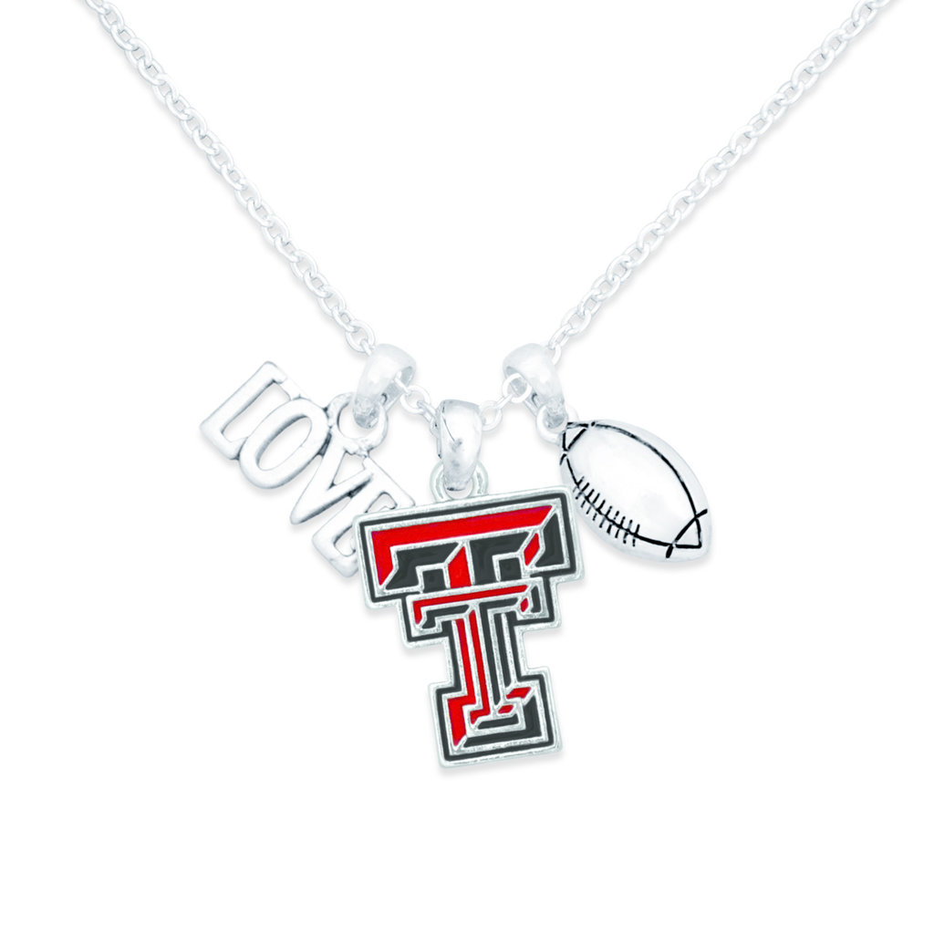Touchdown Football Necklace