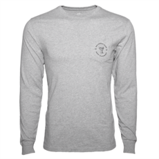 Southern Tide Raider Red Long Sleeve Tee